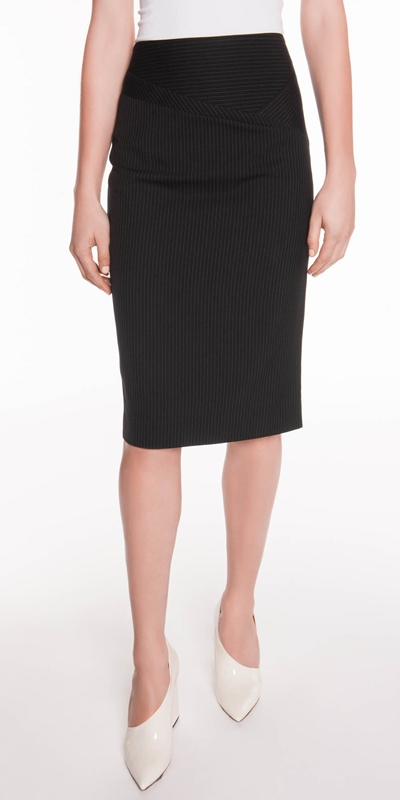 Skirts  | Stripe Pencil Skirt