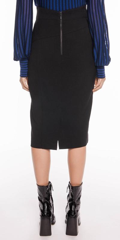 Skirts | High Waist Pencil Skirt