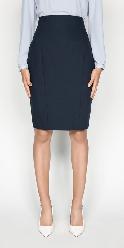 Sale  | Double Weave Pencil Skirt