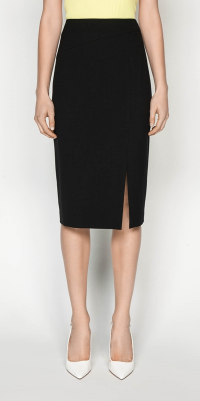 Skirts  | Asymmetric Waist Tuck Skirt