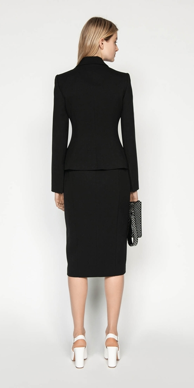 Skirts | Asymmetric Waist Tuck Skirt