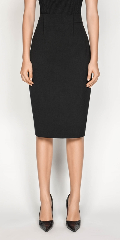 Sale  | High Waisted Pencil Skirt