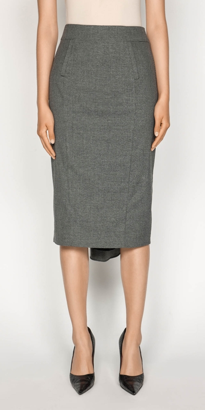 Skirts | Melange Pencil Skirt
