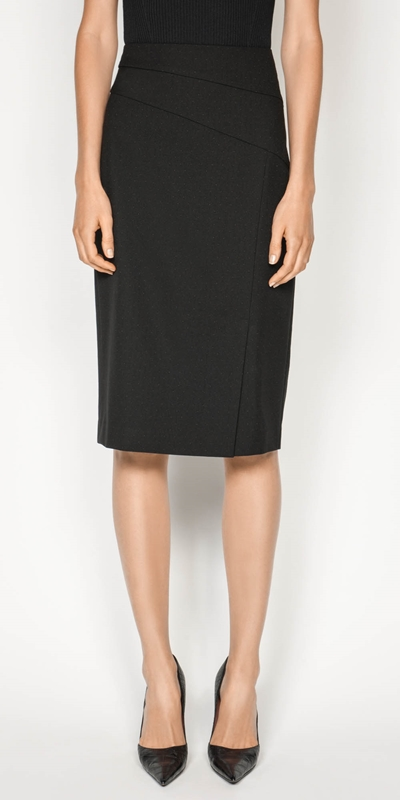 Wear to Work  | Coloured Pinspot Skirt