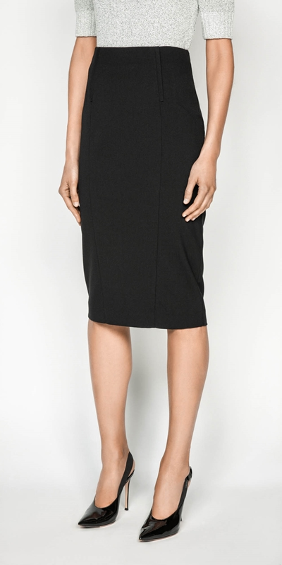 Skirts | Panelled Pencil Skirt