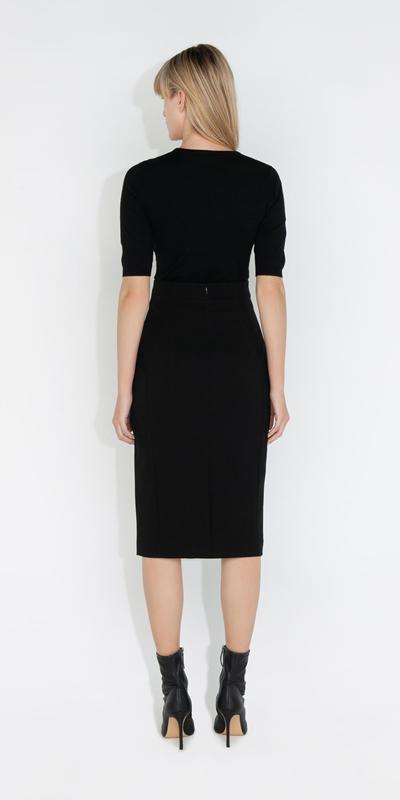 Skirts   High Waisted Pencil Skirt