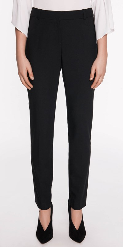 Pants  | Slim Leg Suit Pant