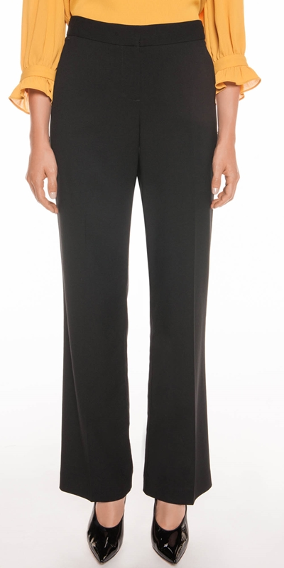 Pants  | Angled Pocket Wide Leg Pant