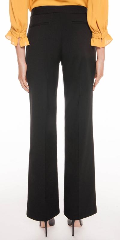 Pants | Angled Pocket Wide Leg Pant