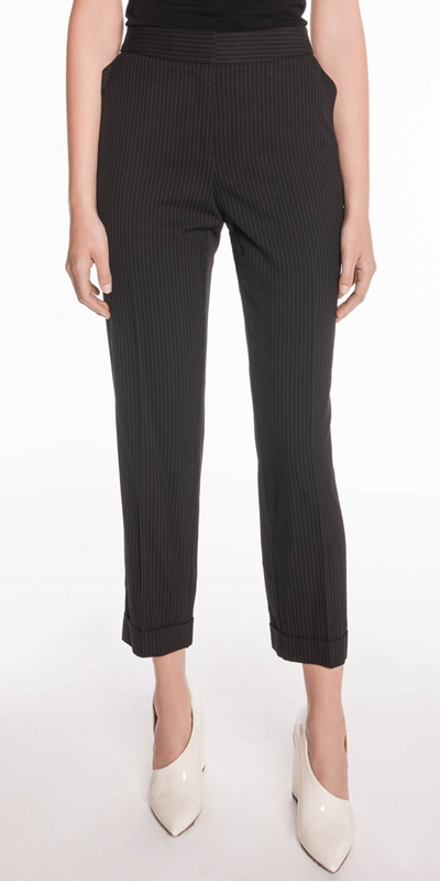 Pants  | Stripe Slim Leg Pant