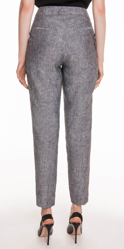 Pants | Linen Tapered Pant