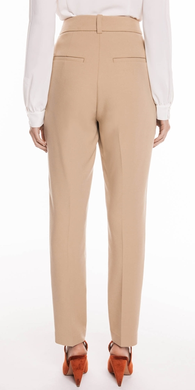 Pants | Beige Tapered Pant