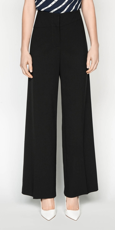 Pants | Wide Leg Suit Pant