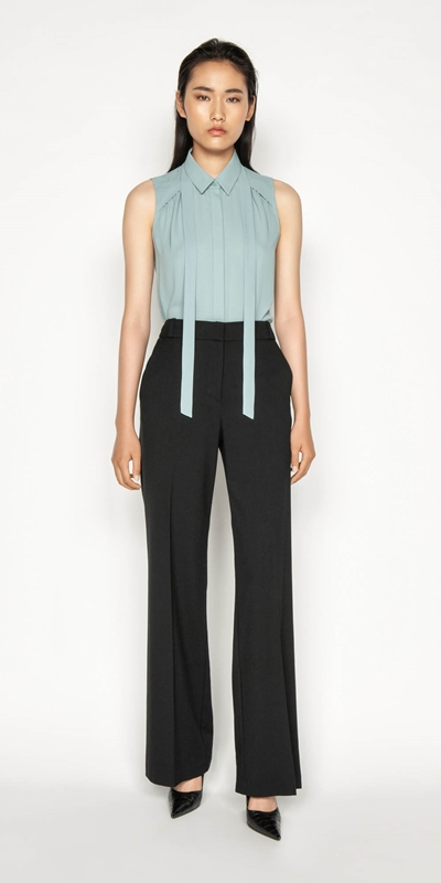 Wear to Work | Wide Leg Suit Pant