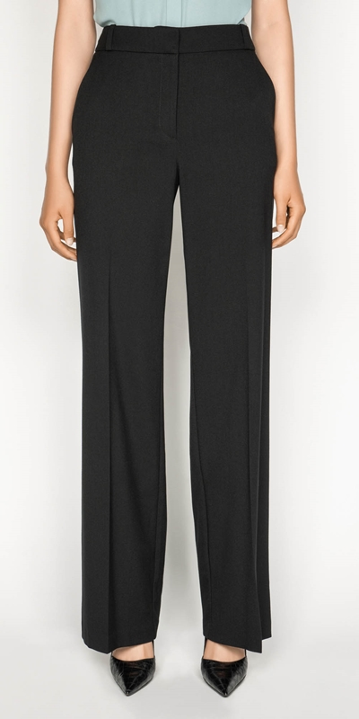 Sale  | Wide Leg Suit Pant