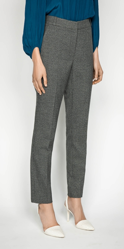 Wear to Work  | Mini Check Skinny Pant