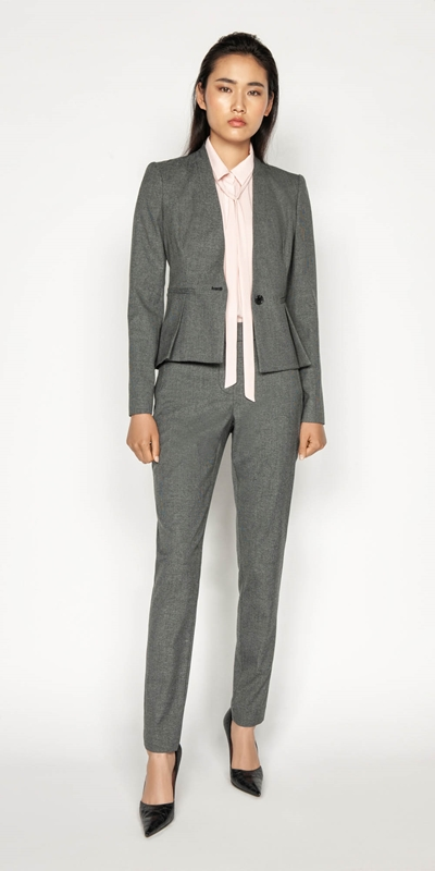 Wear to Work | Melange Skinny Leg Pant