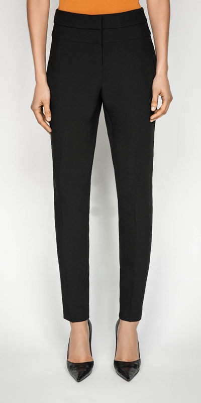 Pants  | Double Weave Skinny Leg Pant