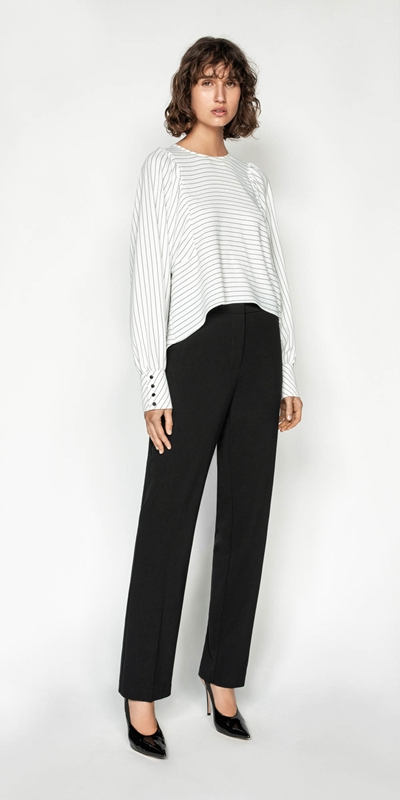 Wear to Work | Straight Leg Pant