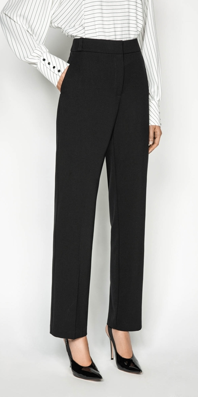 Work From Home  | Straight Leg Pant