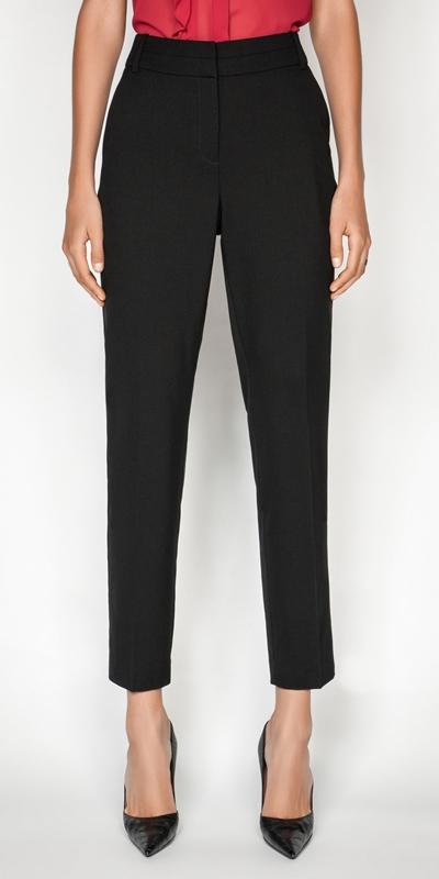 Pants  | Slim Leg Suit Pant