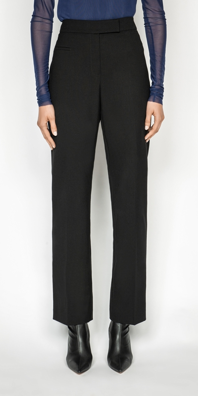 Cue Cares - Sustainable  | Straight Leg Suit Pant