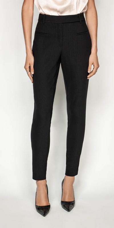 Pants | Ticking Stripe Skinny Pant