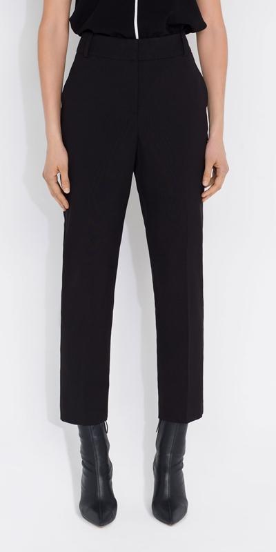 Cue Cares - Sustainable  | Slim Leg Suit Pant