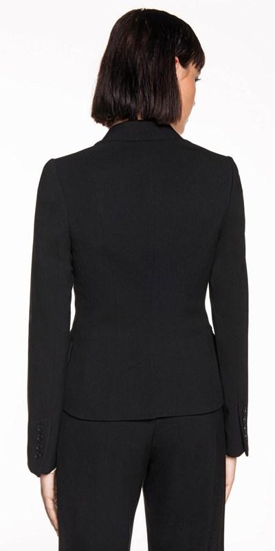 Jackets | Layered Notch Collar Jacket