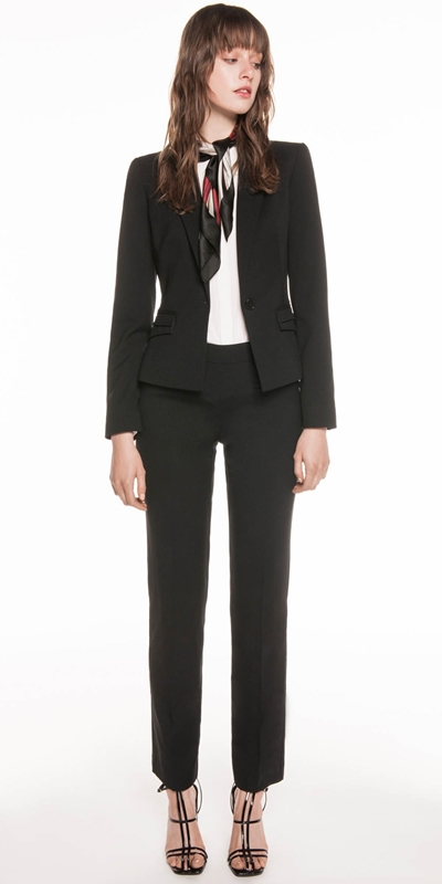 Jackets | Top Stitched Suit Jacket