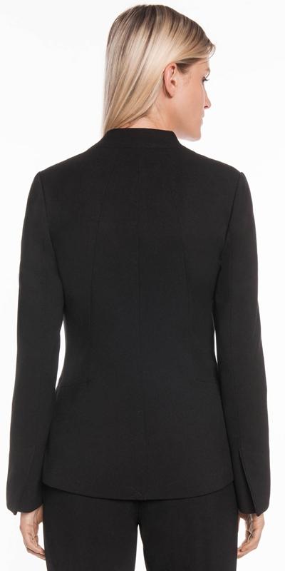 Jackets | Long Line Raised Collar Suit Jacket