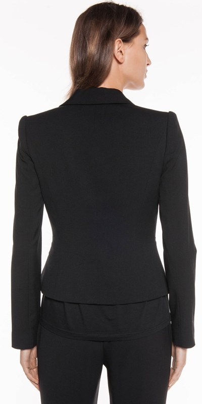 Jackets | One Button Suit Blazer
