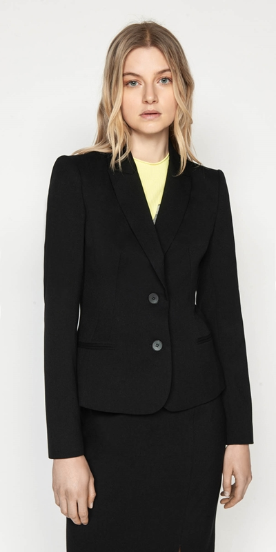 Jackets  | Slim Two Button Blazer