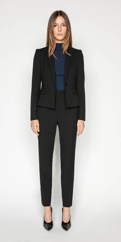 Wear to Work | Topstitched Suit Jacket