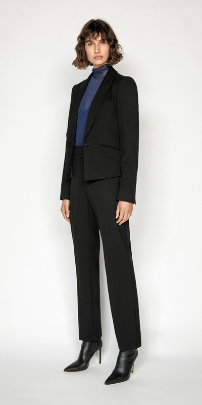 Cue Cares - Sustainable | One Button Classic Blazer