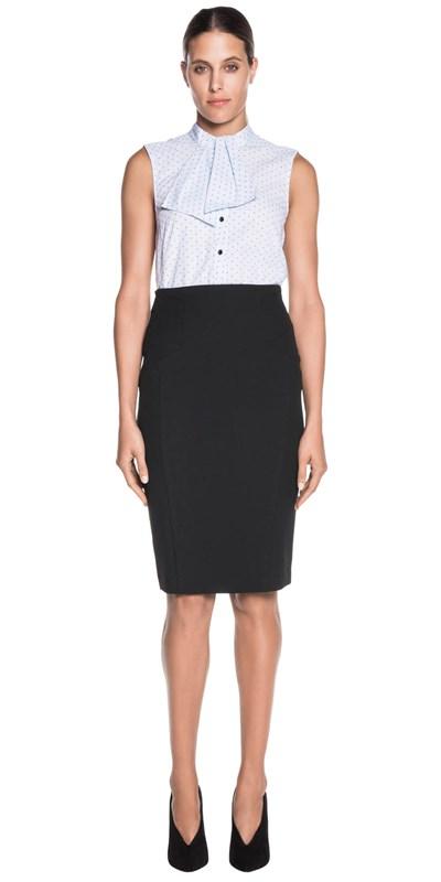 Sale | Spot Stripe Tie Shirt