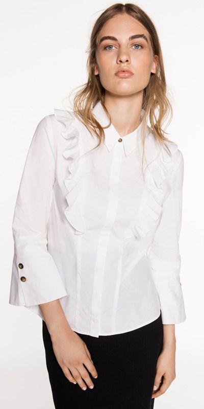 Sale | Cotton Frill Shirt