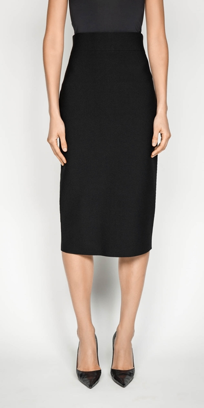 Skirts  | Milano Long Pencil Skirt