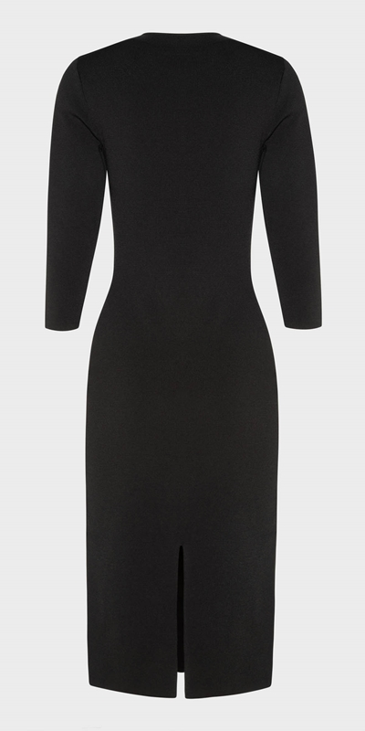 Wear to Work  | Milano Zip Front Pencil Dress