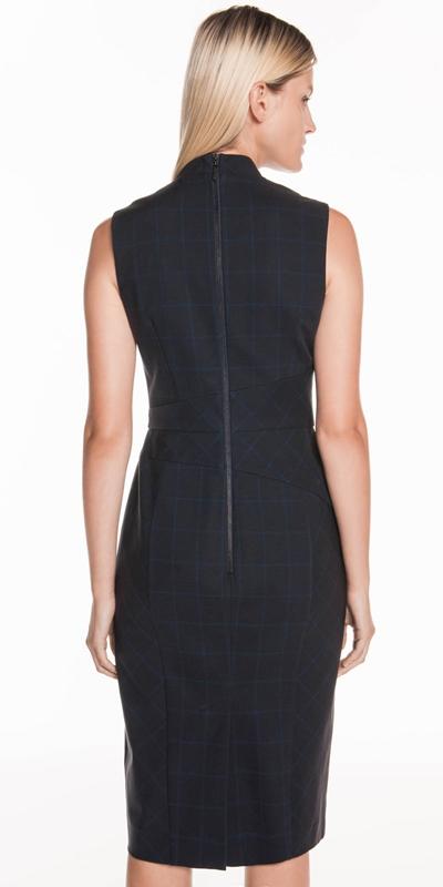 Dresses | Cotton Tencel Check Dress