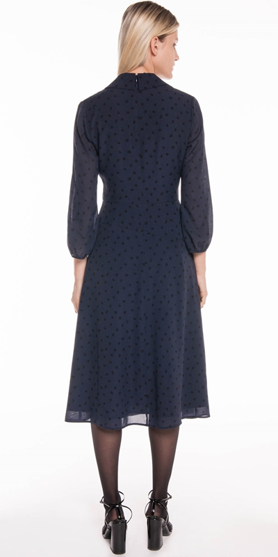 Dresses | Abstract Spot Midi Dress