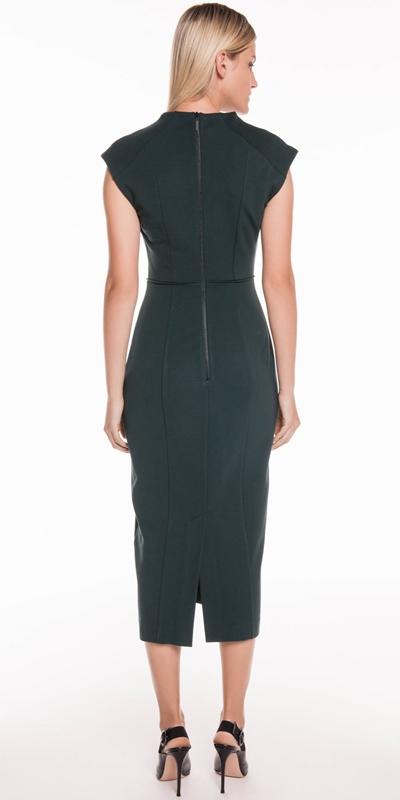 Dresses | Funnel Neck Pencil Dress