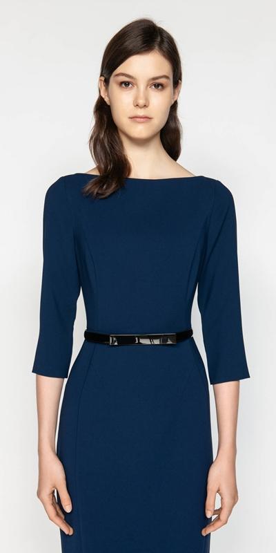 Dresses  | Bateau Pencil Dress
