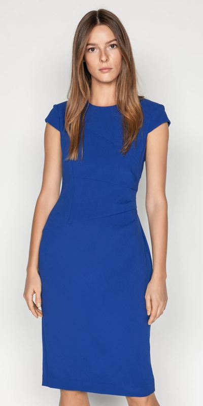 Wear to Work  | Fanned Dart Pencil Dress