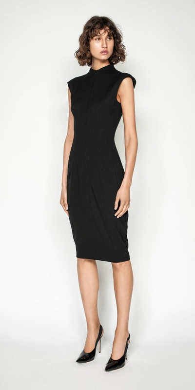 Wear to Work | Cap Sleeve Pencil Dress