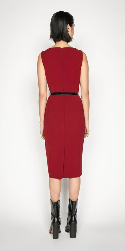 Dresses | Sleeveless Bateau Pencil Dress